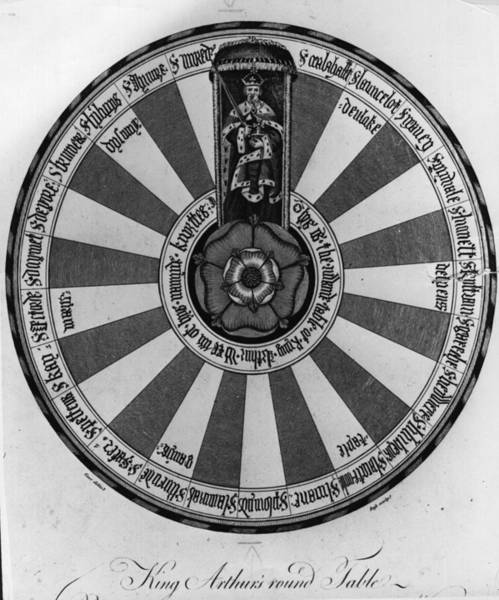 18th Century Digital Art - Round Table by Hulton Archive