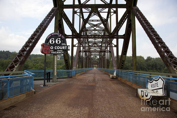 Photograph - Route 66 Bridge, 2009 by Carol Highsmith