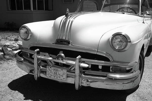 Photograph - Route 66 - Classic Car 2012 Bw #2 by Frank Romeo
