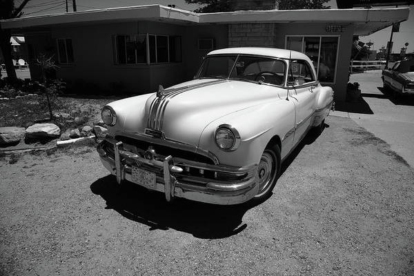 Photograph - Route 66 - Classic Pontiac 2012 Bw by Frank Romeo