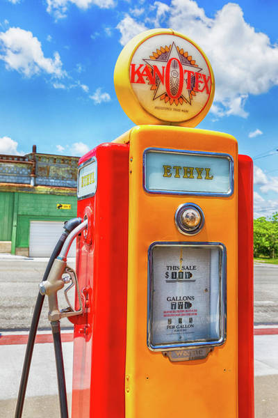 Wall Art - Photograph - Route 66 Ethyl by Stephen Stookey