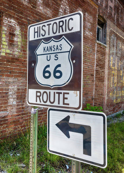 Wall Art - Photograph - Route 66 - Kansas #1 by Stephen Stookey