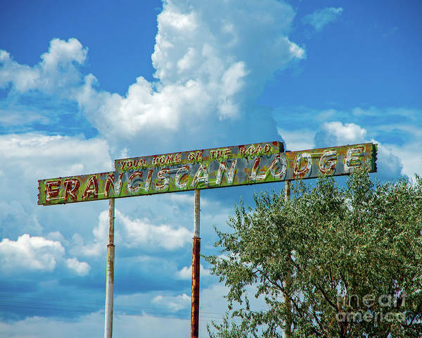 Wall Art - Photograph - Route 66 Lodge by Stephen Whalen