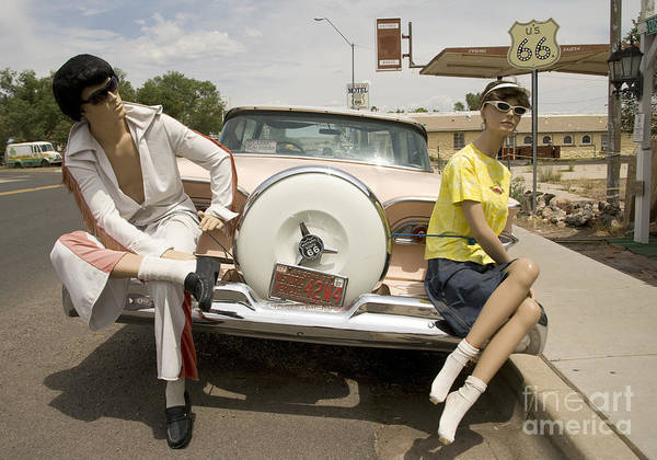 Photograph - Route 66 Manequins, 2006 by Granger