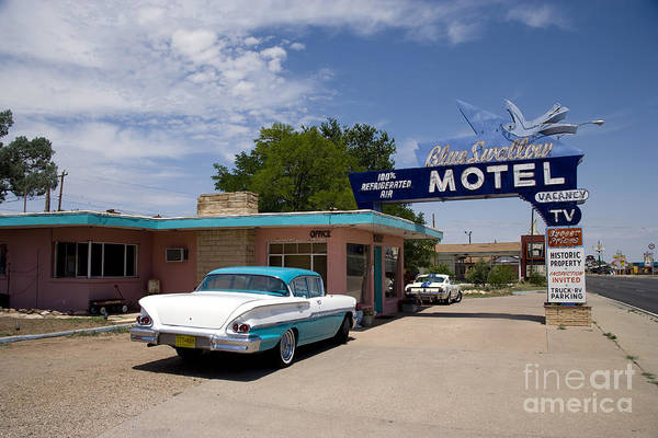 Photograph - Route 66 Motel, 2006 by Carol Highsmith