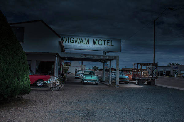 Wall Art - Photograph - Route 66 Motel by Darrell Foster