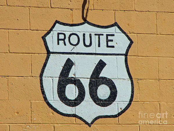 Wall Art - Photograph - Route 66 by Stephen Whalen