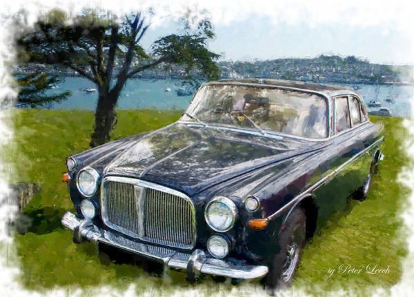 Digital Art - Rover 3.5 P5b by Peter Leech