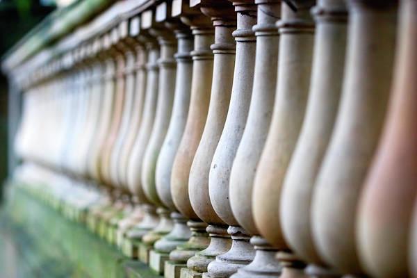 Georgia Photograph - Row Of Bottles by Jung-pang Wu