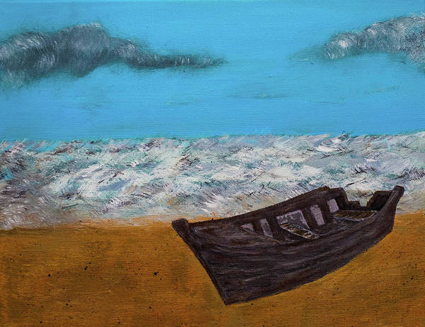 Painting - Row Your Boat by Randy Sylvia