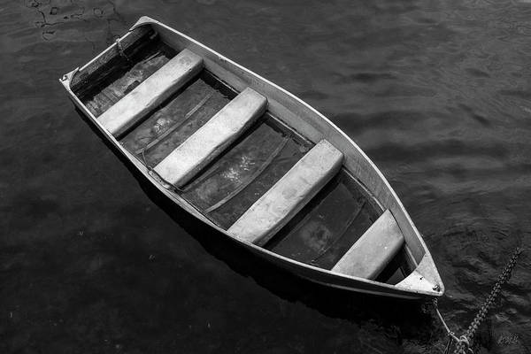 Photograph - Rowboat Rockport Ma Bw by David Gordon