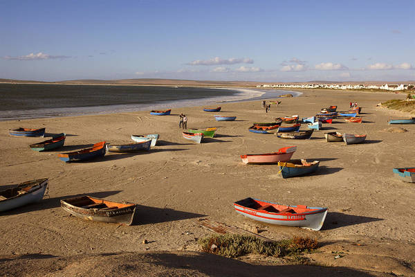 Rowboat Photograph - Rowboats At Beach, Paternoster, Western by Ulli Seer / Look-foto
