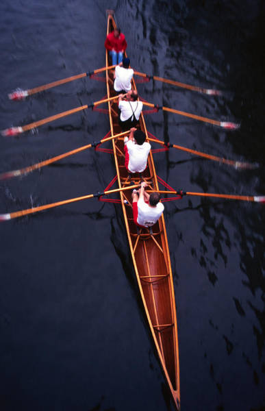 Endurance Race Photograph - Rowing Motion Blur by Robas