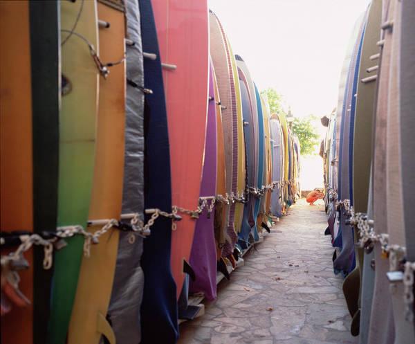 Wall Art - Photograph - Rows Of Surfboards by Jonathan Kantor Studio
