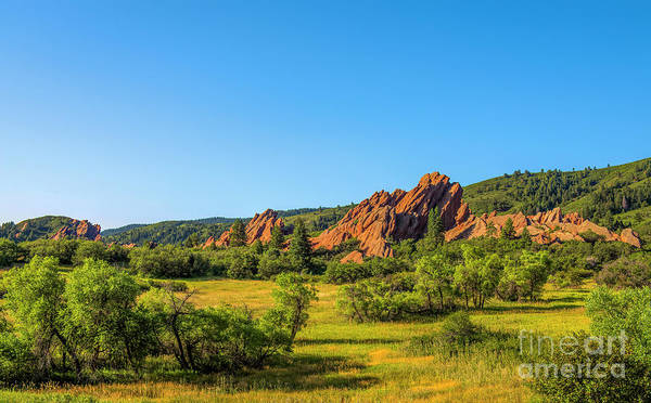 Wall Art - Photograph - Roxborough State Park Sandstone by Jon Burch Photography