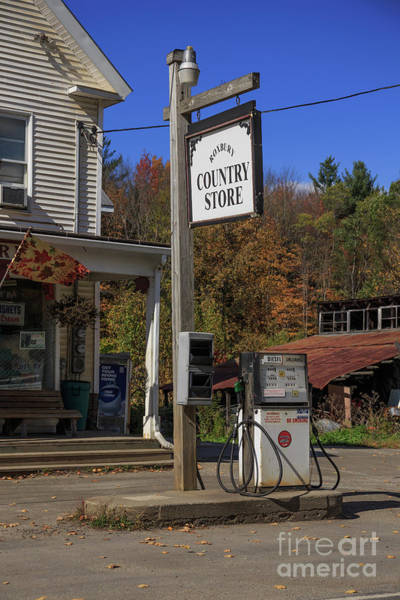 Wall Art - Photograph - Roxbury Country Store Roxbury Vermont by Edward Fielding