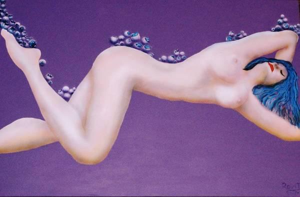 Wall Art - Painting - Roxy by John Rovito