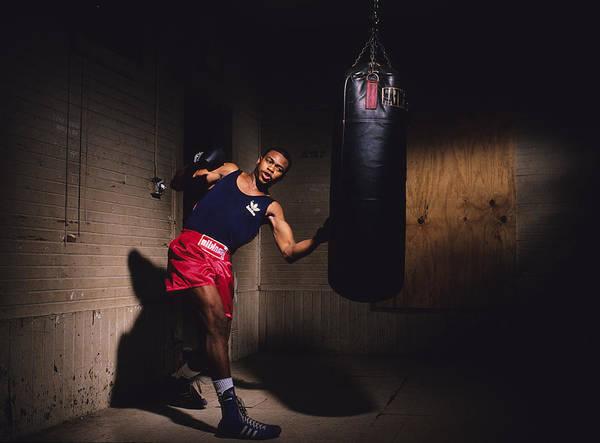 Sports Training Photograph - Roy Jones Jr by Ronald C. Modra/sports Imagery