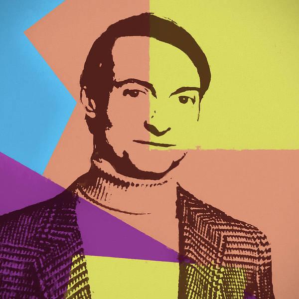 Painting - Roy Lichtenstein by Dan Sproul