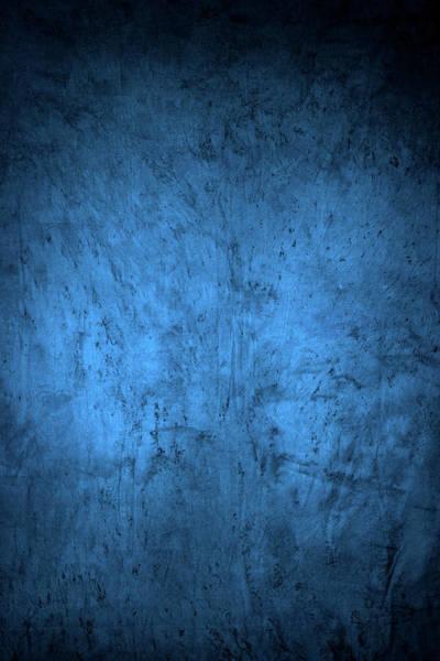Blue Background Photograph - Royal Blue Textured Background by Shutterworx