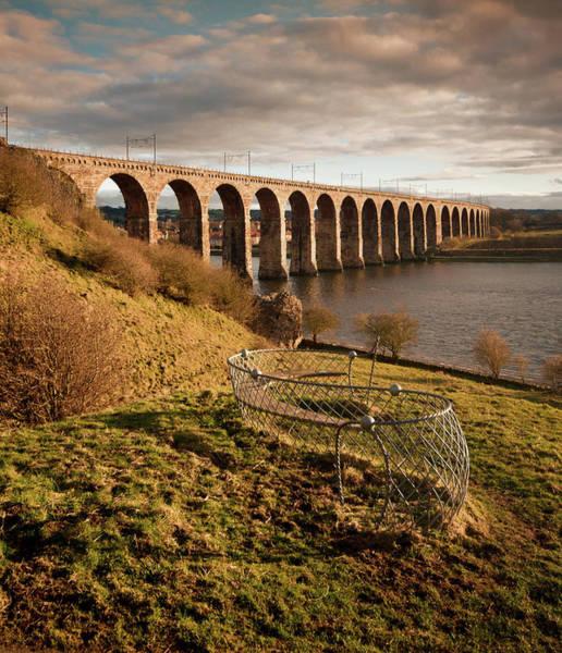 Royal Border Bridge, Berwick-upon-tweed Art Print