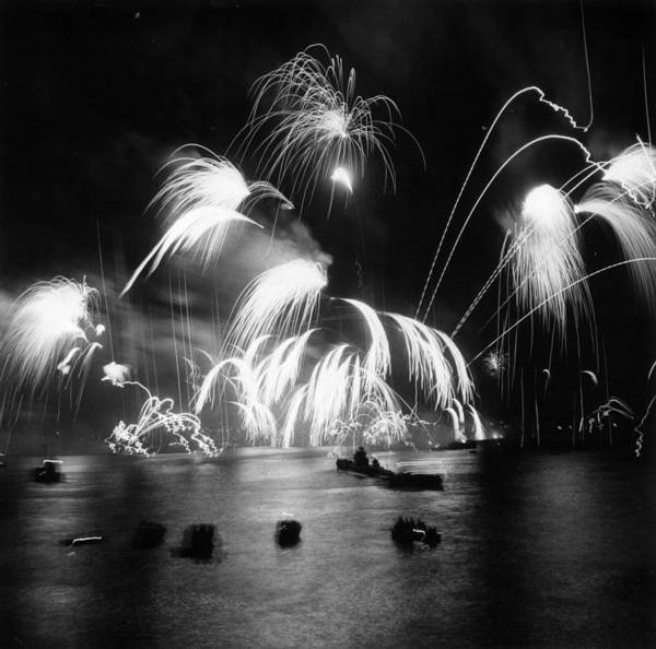 Photograph - Royal Fireworks by Thurston Hopkins