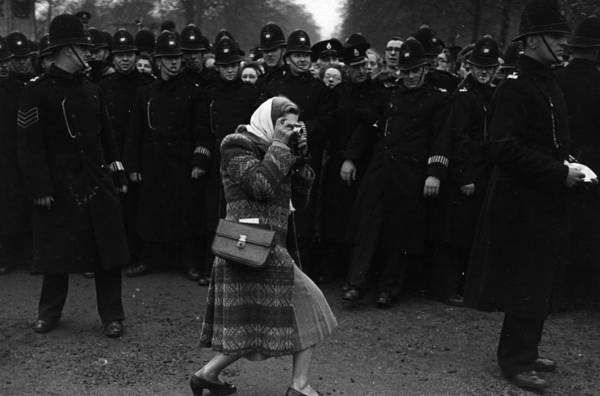Restrain Photograph - Royal Photographer by Bert Hardy