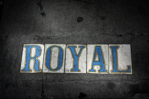 Wall Art - Photograph - Royal Street Tiles by Greg and Chrystal Mimbs