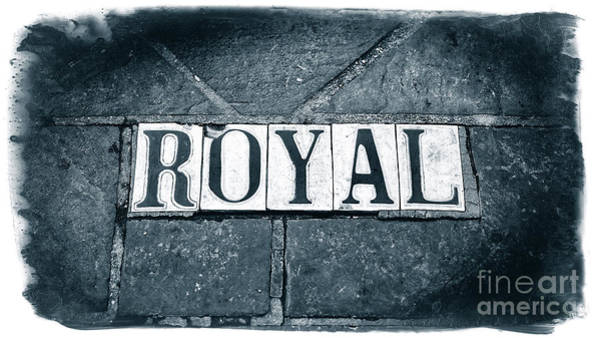 Photograph - Royal Street Tiles In New Orleans by John Rizzuto