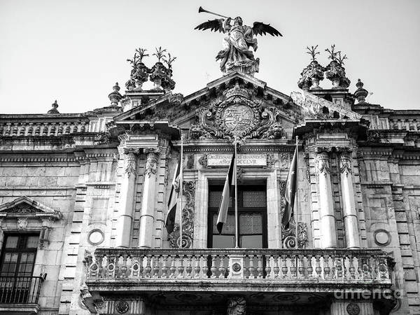 Photograph - Royal Tobacco Factory Balcony In Seville by John Rizzuto