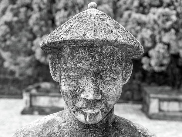 Photograph - Royal Tomb Face by Gary Gillette
