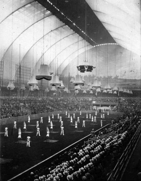 Exhibition Photograph - Royal Tournament by E. Dean