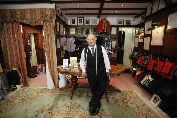 Photograph - Royal Warrant Tailors G.d. Golding by Oli Scarff