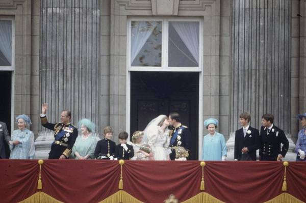 Wall Art - Photograph - Royal Wedding Day by Fox Photos