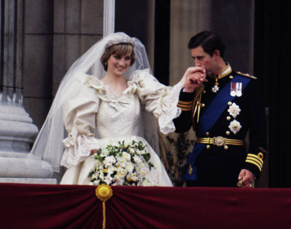 Wedding Bouquet Photograph - Royal Wedding by Princess Diana Archive