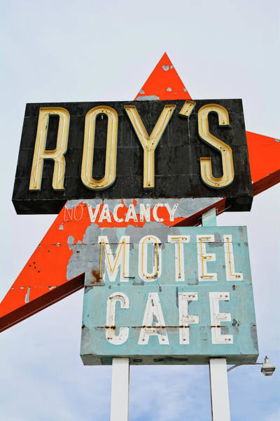 Photograph - Roy's Motel And Cafe Portrait by Kyle Hanson