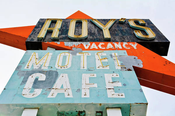 Photograph - Roy's Motel Route 66 by Kyle Hanson