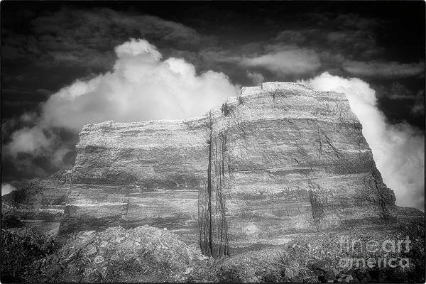 Photograph - Rubble Mesa by Natural Abstract Photography