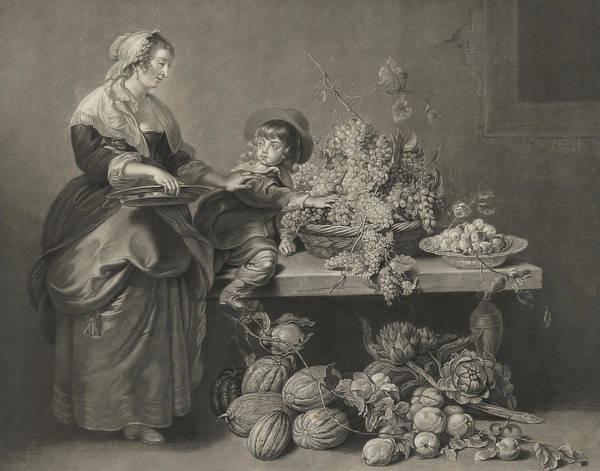 Wall Art - Painting - Rubens Son And Nurse by Peter Paul Rubens