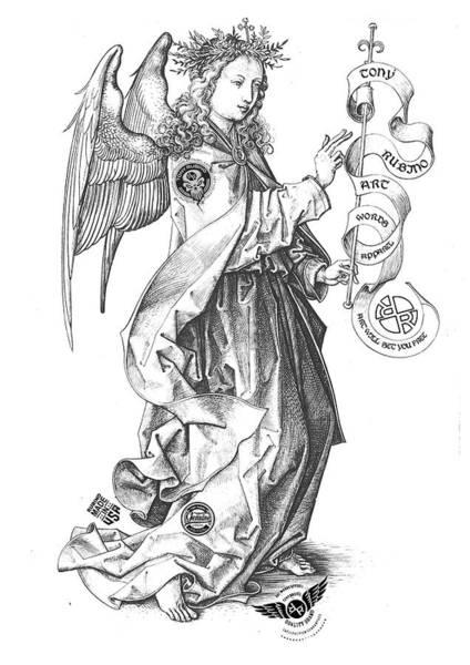 Painting - Rubino Angel 2 by Tony Rubino