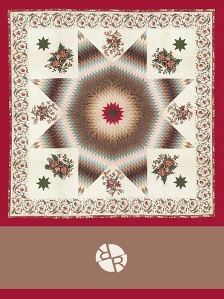 Wall Art - Painting - Rubino Mandala Design Pattern Dark Red by Tony Rubino