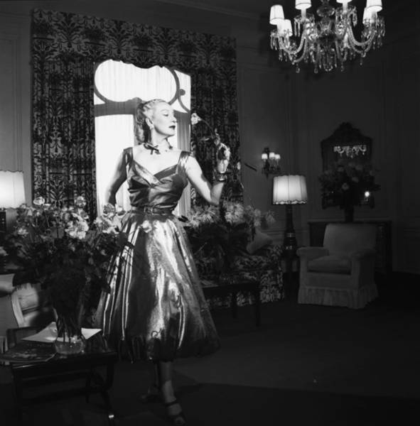 Photograph - Rubinstein Rose by Slim Aarons