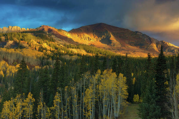 Photograph - Ruby Range Sunrise by John De Bord