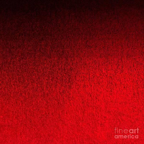 Digital Art - Ruby Red Ombre Design by Sheila Wenzel