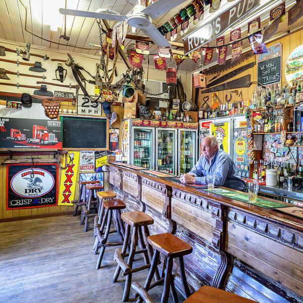 Bar Tender Photograph - Rudd's Pub by Jaime Dormer