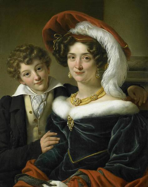 Wall Art - Painting - Rudolphina Wilhelmina Elizabeth De Sturler by Cornelis Kruseman