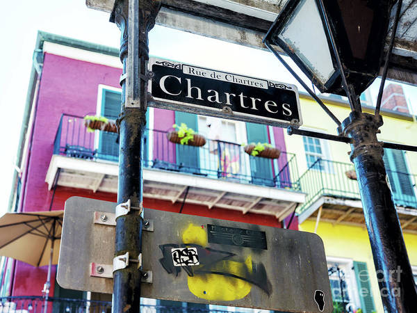 Photograph - Rue De Chartres In New Orleans by John Rizzuto