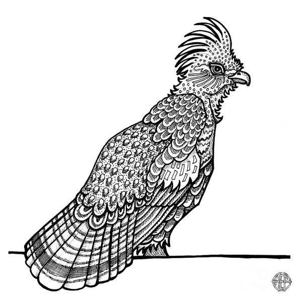Ruffed Grouse Art Print