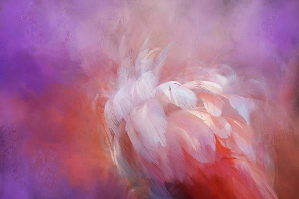 Wall Art - Digital Art - Ruffled Feathers by Terry Davis