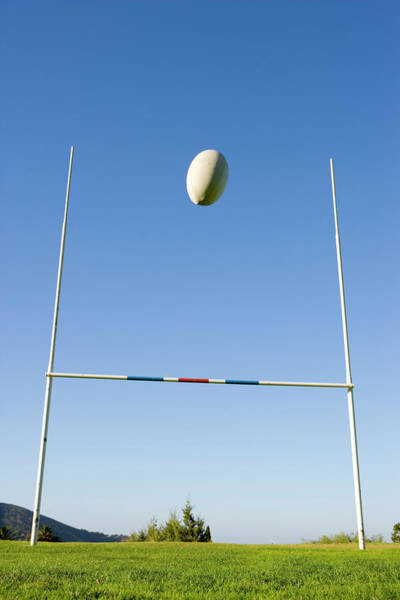 Viewpoint Photograph - Rugby Goal Scoring by Jupiterimages